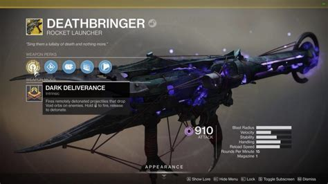 Destiny 2: Shadowkeep guide - How to get the Deathbringer