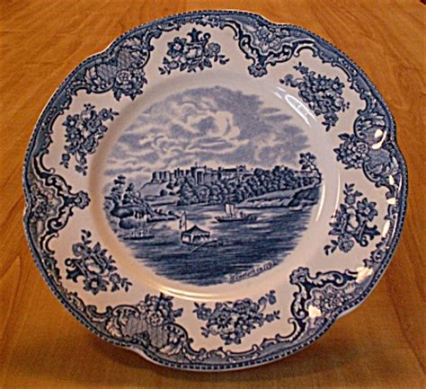 Johnson Brothers China England Old Britain Castles 8 7/8