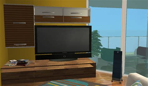 Mod The Sims - Television Placement Mod v2