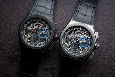 The 1/100th of a Second Mechanical Chronograph: Zenith's