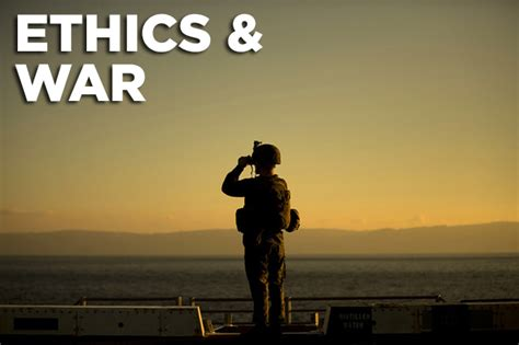 Ethics and War | Carnegie Council for Ethics in