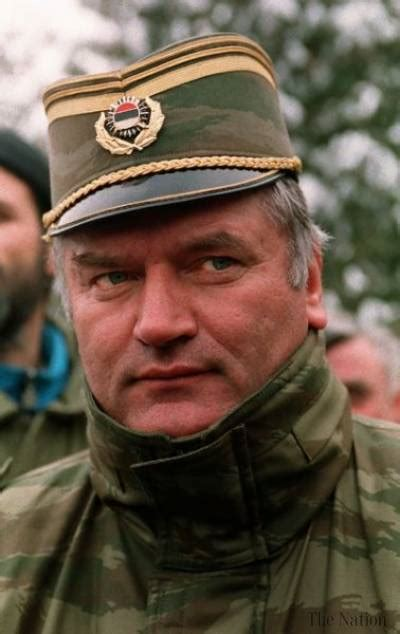 Mladic — Serb crusader charged with siege and slaughter