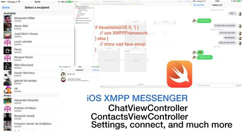 Building an XMPP iOS client in Swift 2   ProcessOne