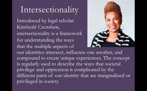 """""""We're all just different!"""" How Intersectionality is Being"""