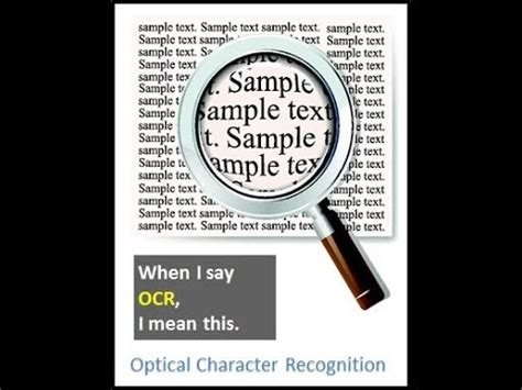 Optical Character Recognition (OCR) with Javascript - YouTube