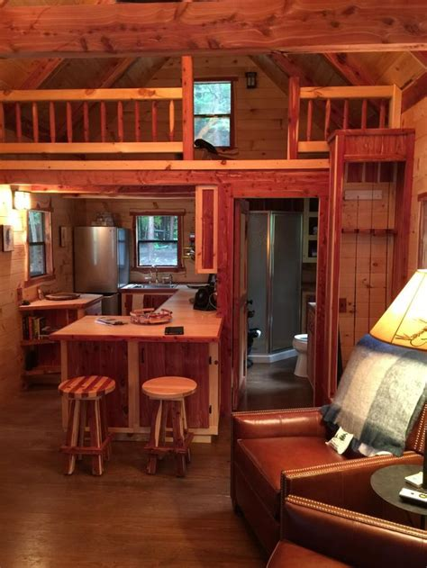 Trophy Amish Cabins, LLC - INTERIORS   Small cabin designs