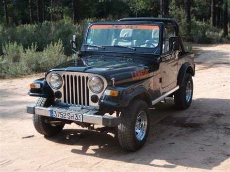 jeep cj7, Voitures, Véhicules, Rochefort (17300) - annonce