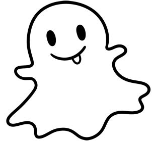 How to Draw the Snapchat Ghost, Step by Step, Symbols, Pop