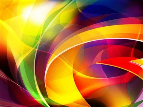 Vibrant Color Curves Abstract Vector Background - WeLoveSoLo