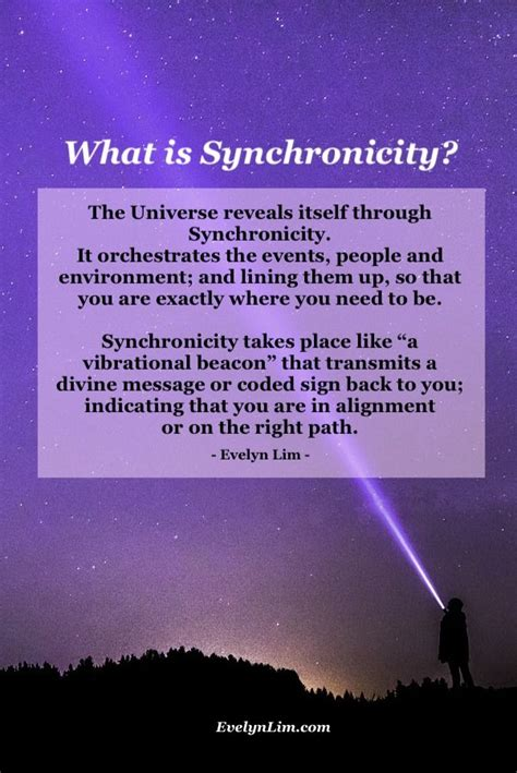 Synchronicity Meaning: Message from the Universe | What is