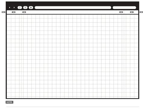 20 Free Printable Sketching and Wireframing Templates