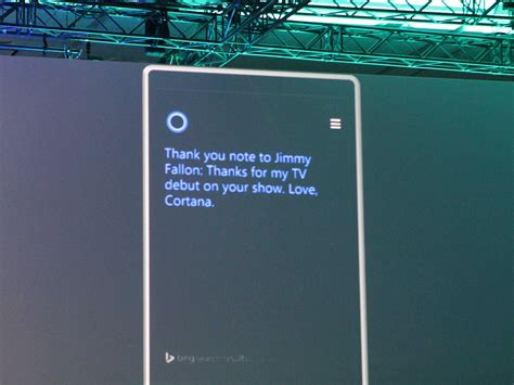 Microsoft's 'Cortana' Voice Assistant - Business Insider