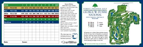 Forest Preserve Golf: George W