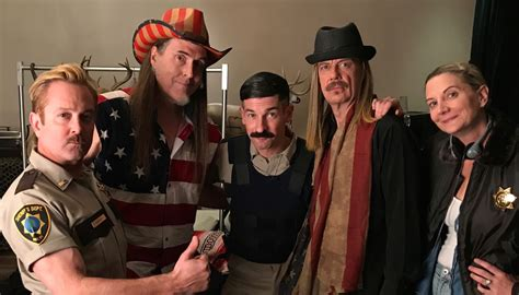 """""""Weird Al"""" Plays Ted Nugent in New Reno 911 Revival"""