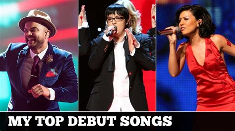 Eurovision DEBUT SONGS (2000-2017) | My Top 16 - YouTube