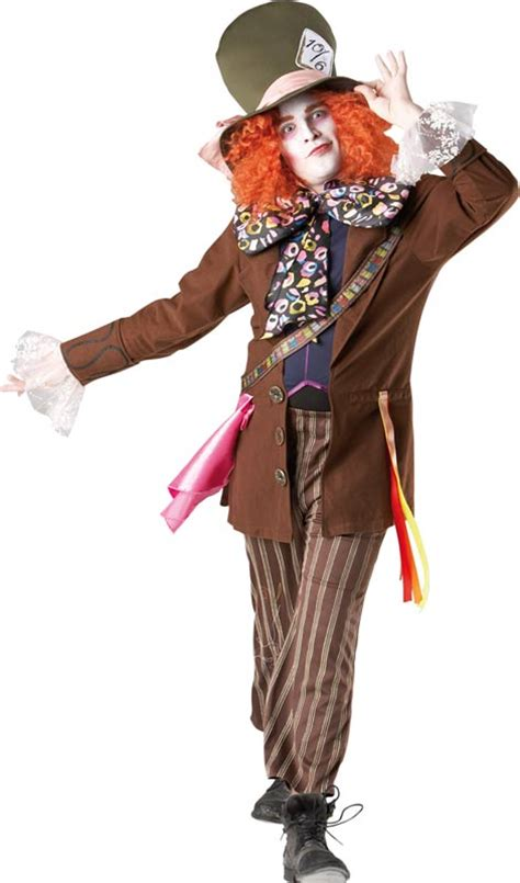 Deluxe Alice in Wonderland Mad Hatter Costume for Adults