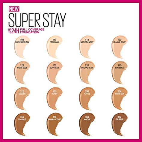» Maybelline Super Stay Full Coverage Foundation