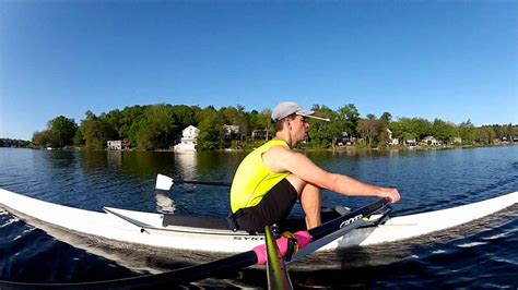GoPro Rowing/Sculling: 90 Degree Side View w/Handlebar