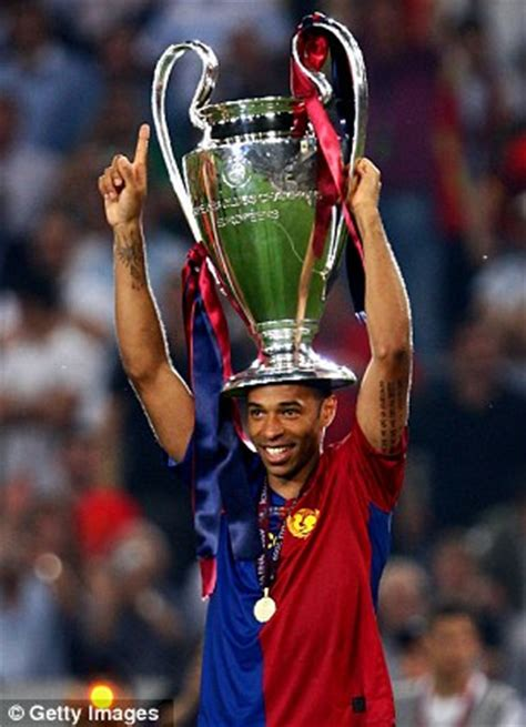 Thierry Henry would rather play Arsenal in the Champions