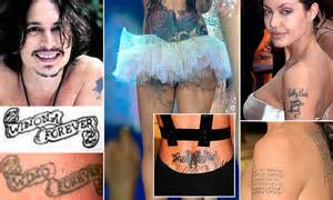 Why it's so hard to stamp out a tattoo: As Cheryl Cole