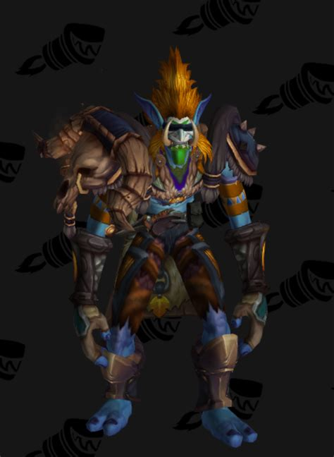 Troll shaman - If only the mask wasn't leather
