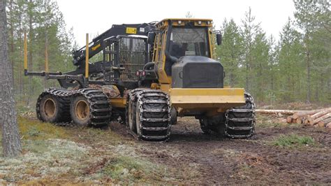 Tigercat 1085C - The Big Forwarder From Canada | Forestry