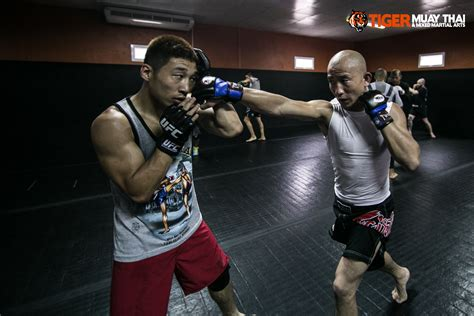 UFC Fighters From China at TMT! - Tiger Muay Thai & MMA