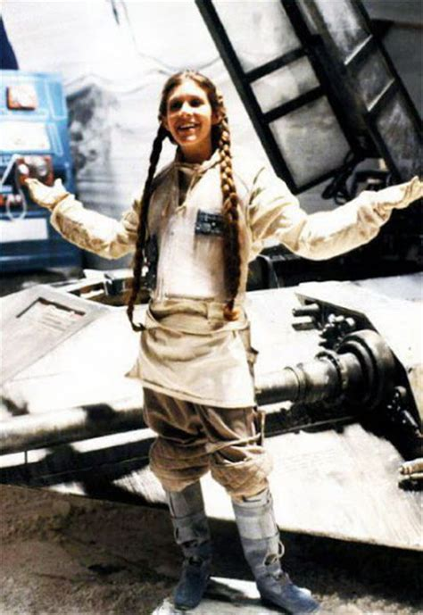 Rare Behind The Scenes Photos from 'Star Wars' ~ vintage