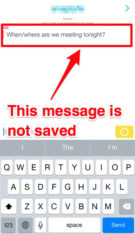 Use this trick to keep your Snapchat text messages from