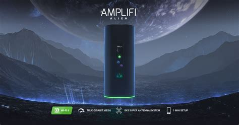 AmpliFi launches 'Alien' as its first Wi-Fi 6 mesh router