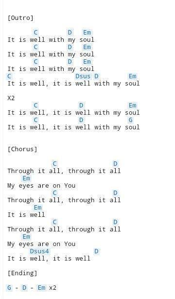 It Is Well (3)   Guitar chords for songs, Ukulele songs