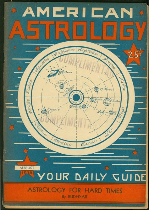 American Astrology magazine covers - Astrolearn