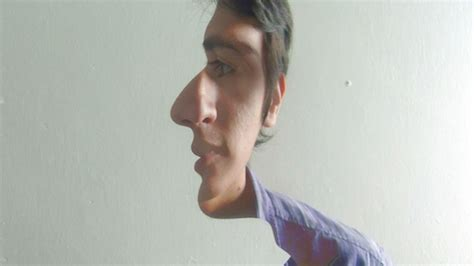 These Pictures of People with Half-Faced Illusions Are