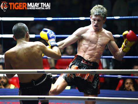 Aussie Wins Muay Thai Debut in Bloody Bout - Tiger Muay