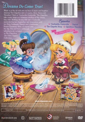 The Chipettes: The Glass Slipper Collection (DVD) | Alvin
