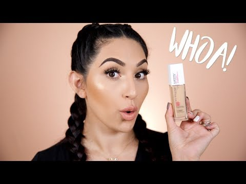 Maybelline Super Stay 24H Full Coverage Foundation First
