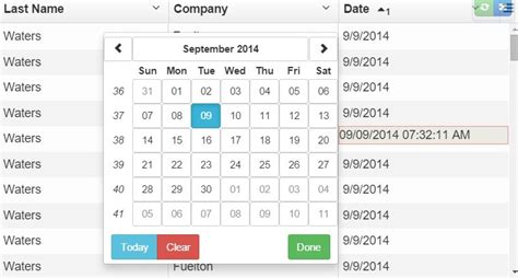 Angular Directive For Adding Bootstrap Datepicker To UI