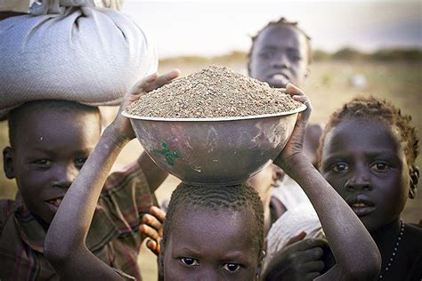 The Key to Ending Global Hunger Is on the Battlefield
