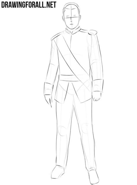 How to Draw a Prince   Drawingforall