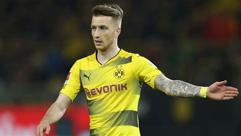 Dortmund Boss Admits Marco Reus Likely to Miss Bayern