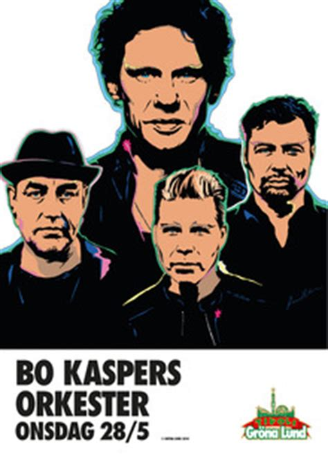 Bo Kaspers Orkester Tickets, Tour Dates 2018 & Concerts