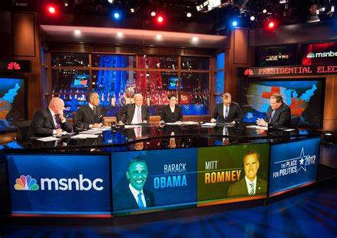 MSNBC, Its Ratings Rising, Gains Ground on Fox News