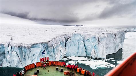 Experience the North Pole aboard a nuclear-powered