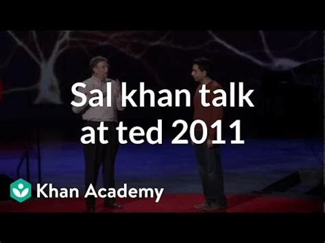 Salman Khan talk at TED 2011 (from ted