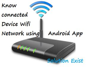 Know how Many People Using your WiFi Network with Android