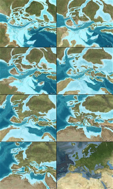 How the North American and European Continents Have Formed