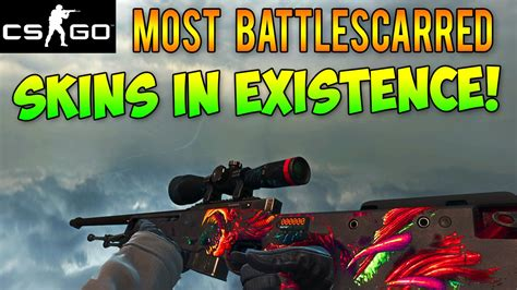 CS GO - The Most Battle-Scarred Skins in Existence! High