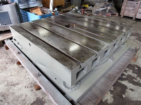 USED, 60″ X 60″ GIDDINGS & LEWIS AIR LIFT ROTARY TABLE