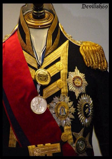 Admiral Lord Horatio Nelson's uniform (With images