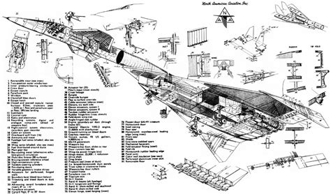 North American XB-70 Valkyrie bomber usa jet aircrafts